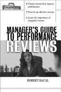 Managers Guide to Performance Reviews""