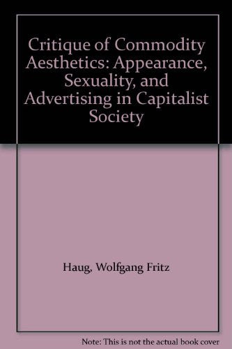 Critique of Commodity Aesthetics: Appearance, Sexuality, and Advertising in Capitalist Society
