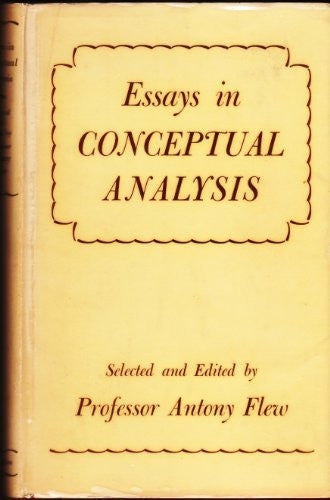 Essays in Conceptual Analysis