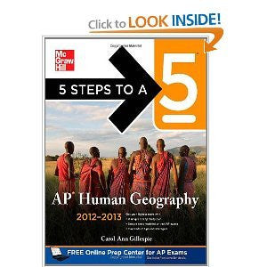 5 Stepsto a 5 AP Human Geography byGillespie