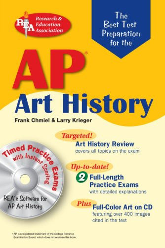 AP Art History w/CD-ROM (REA)-The Best Test Prep for (Advanced Placement (AP) Test Preparation)