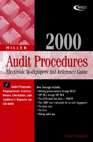 2000 Miller Audit Procedures: Electronic Workpapers and Reference Guide (Miller Engagement Series)