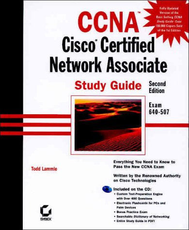 CCNA Cisco Certified Network Associate : Study Guide (with CD-ROM)