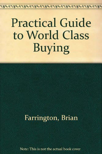 A Practical Guide to World-Class Buying