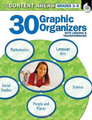 30 Graphic Organizers for the Content Areas Grades 3-5 (Graphic Organizers to Improve Literacy Skills)