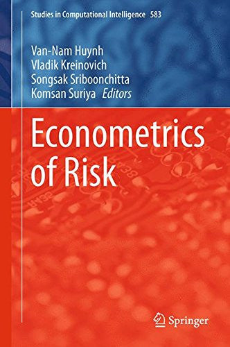 Econometrics of Risk (Studies in Computational Intelligence)