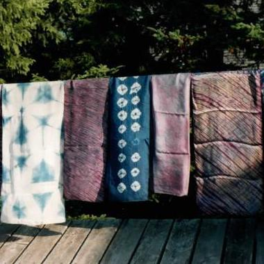 4.11.20  Intro to Shibori:  Japanese Shaped Resist Dyeing with Ray Cooper