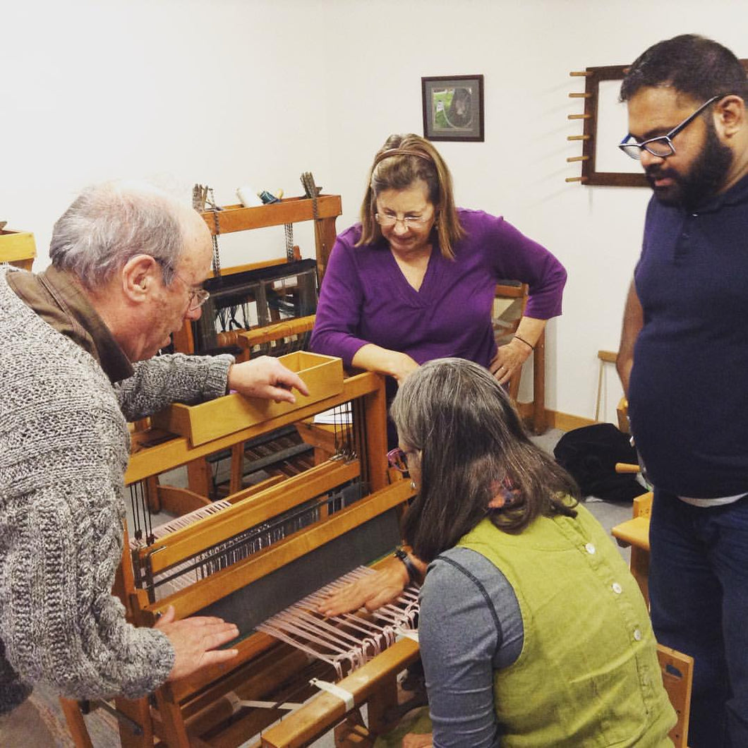 4.27.19 Intro to 4-Harness Weaving with Ray Cooper