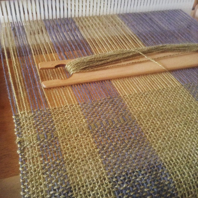 10.22.17 Rigid Heddle Weaving - Fibonacci Sequence with Casey Ryder