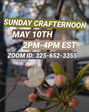 Virtual Sunday Crafternoon