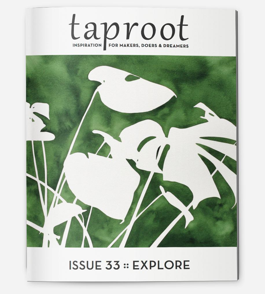 Taproot, Issue 33: Explore