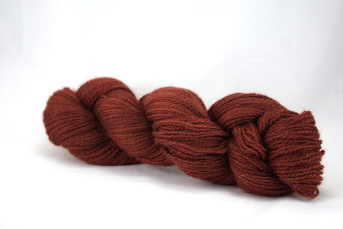 Rust Cashgora Fingering Yarn