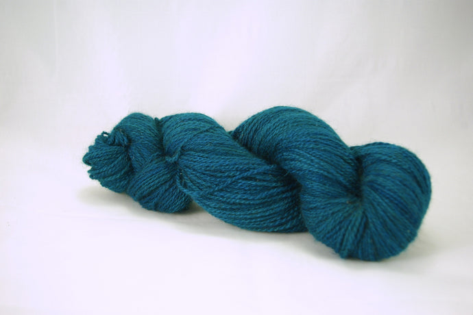 Peacock Cashgora Fingering Yarn