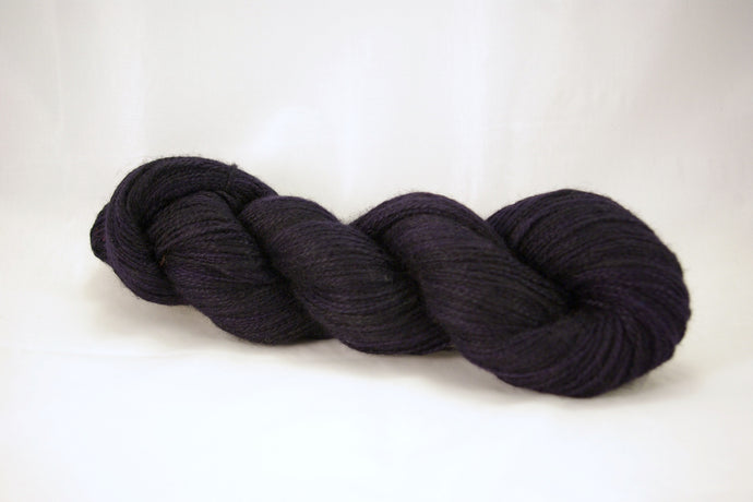 Midnight Cashgora Sport Yarn