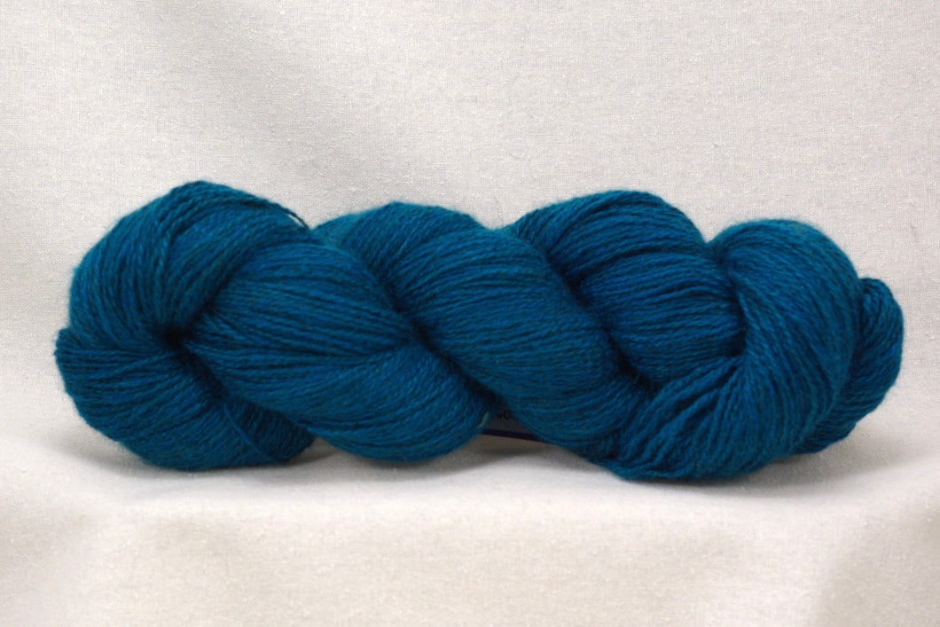 Peacock Cashgora Lace Yarn