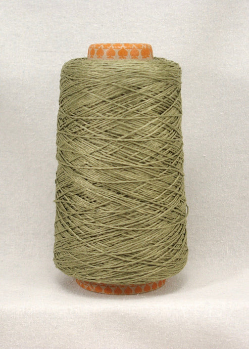 Olive: Euroflax 14/4 Linen