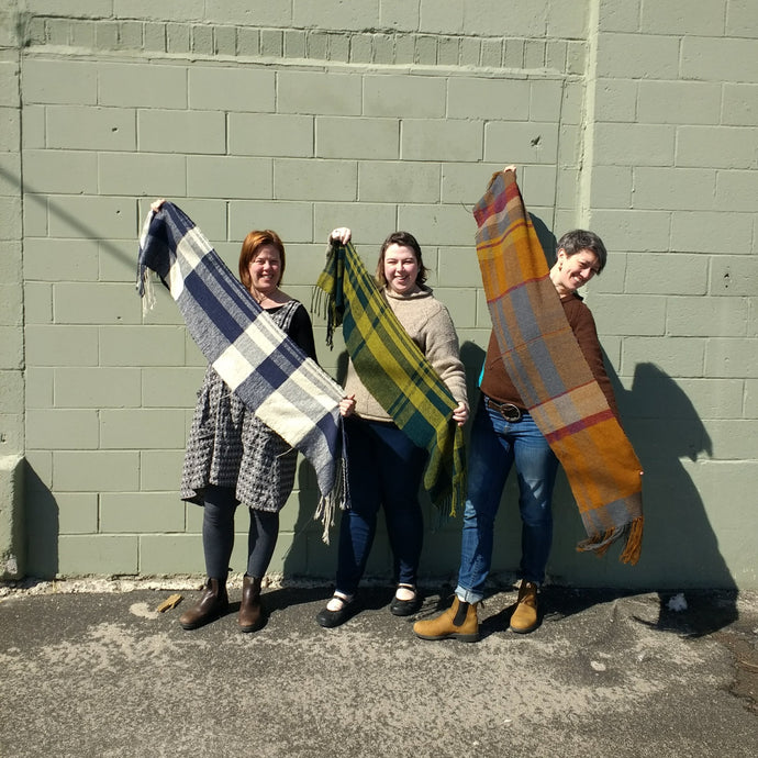 10.27.19 Wax & Wane Scarf with Casey Ryder