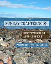 5.16 Virtual Sunday Crafternoon