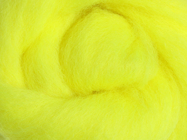 Fluorescent Yellow Corriedale