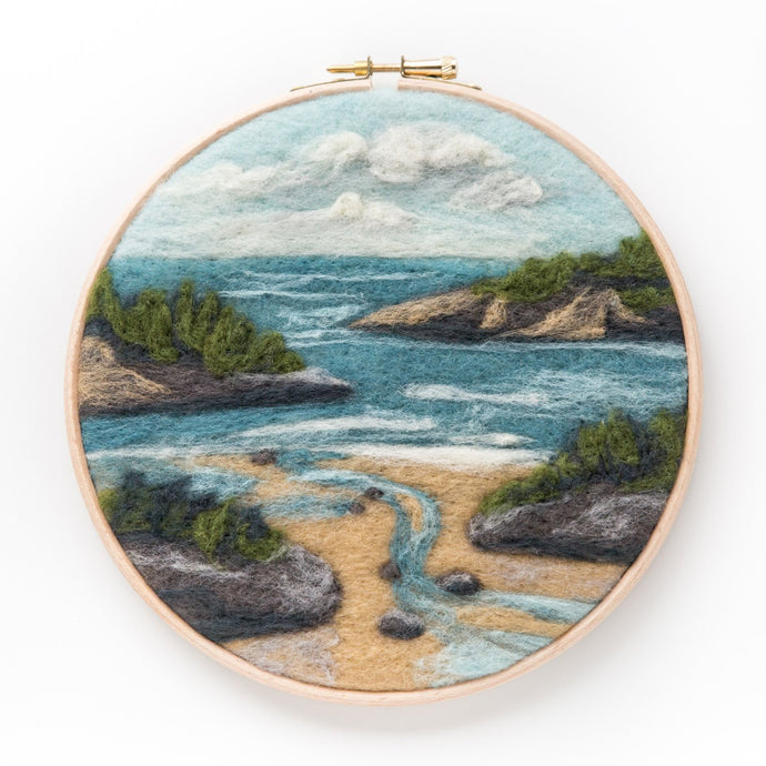 Coastal Waters Felted Sky Kit