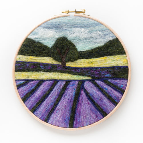 Lavender Fields Felted Sky Kit