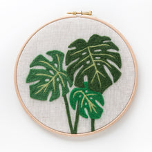 Monstera Felted Sky Kit