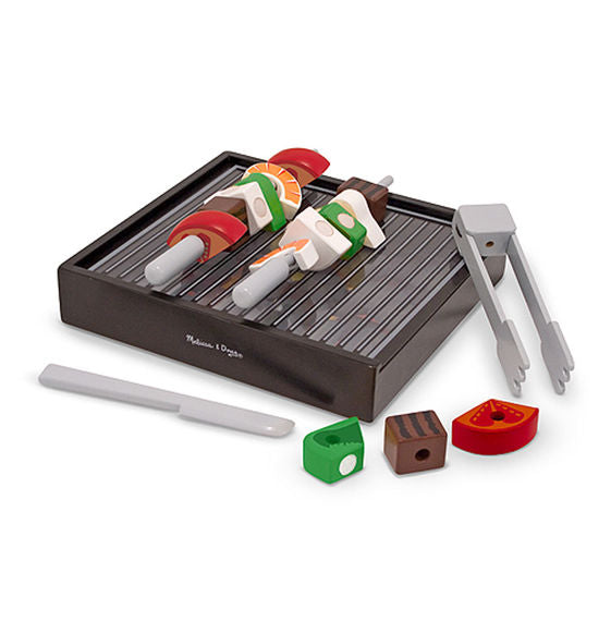 Melissa & Doug Wooden Grill Playset