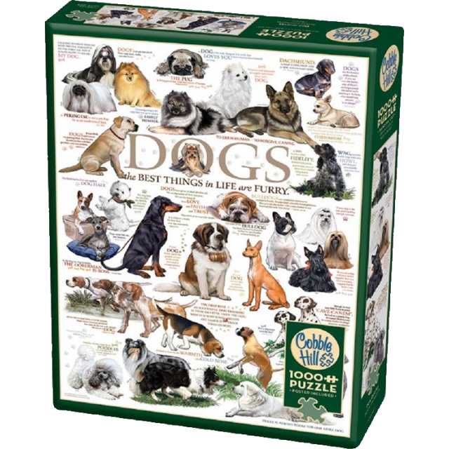 Dog Quotes - 1000 piece