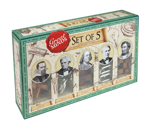 Great Minds Set of 5 (Eng/Fr)