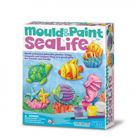 Sea Life Mould and Paint