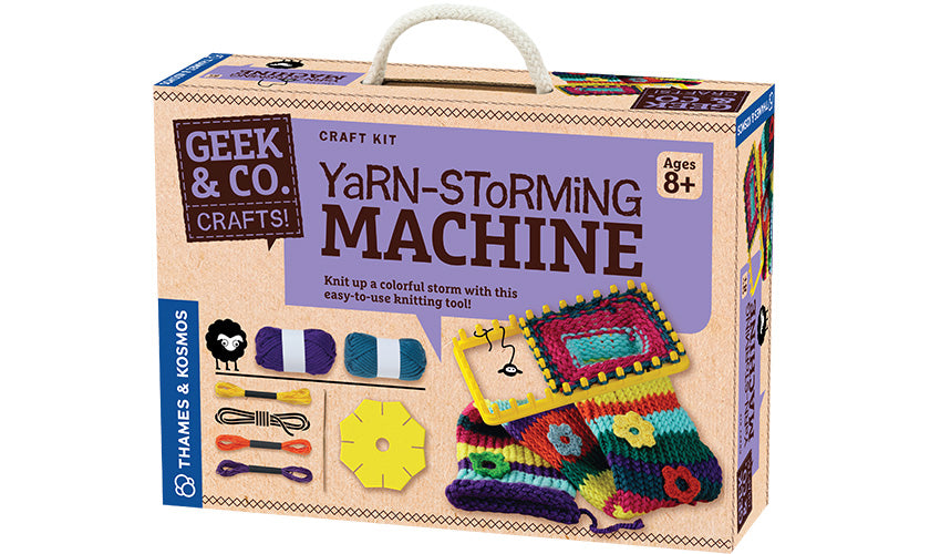 Yarn-Storming Machine