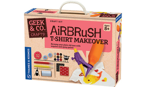 Airbrush T-Shirt Makeover (Eng)