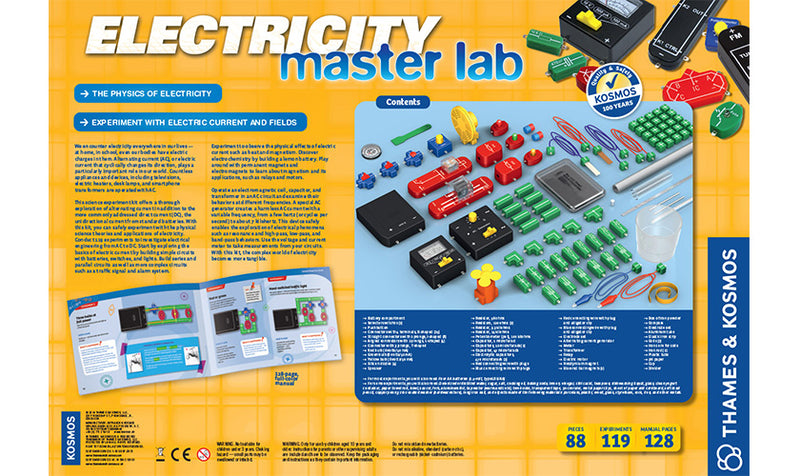 Electricity: Master Lab