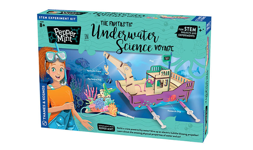 Pepper Mint in the Fantastic Underwater Science Voyage