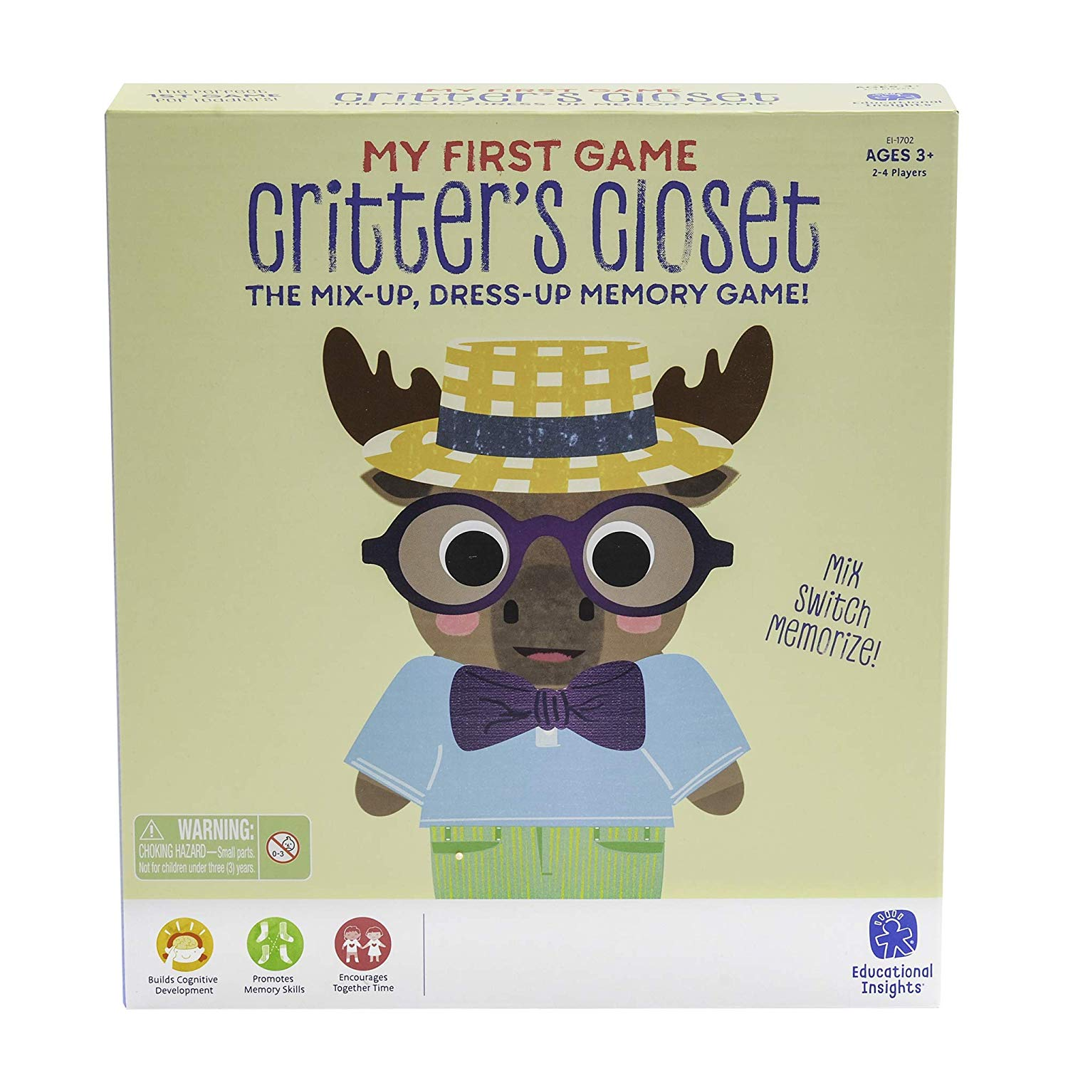 My First Game: Critter's Closet