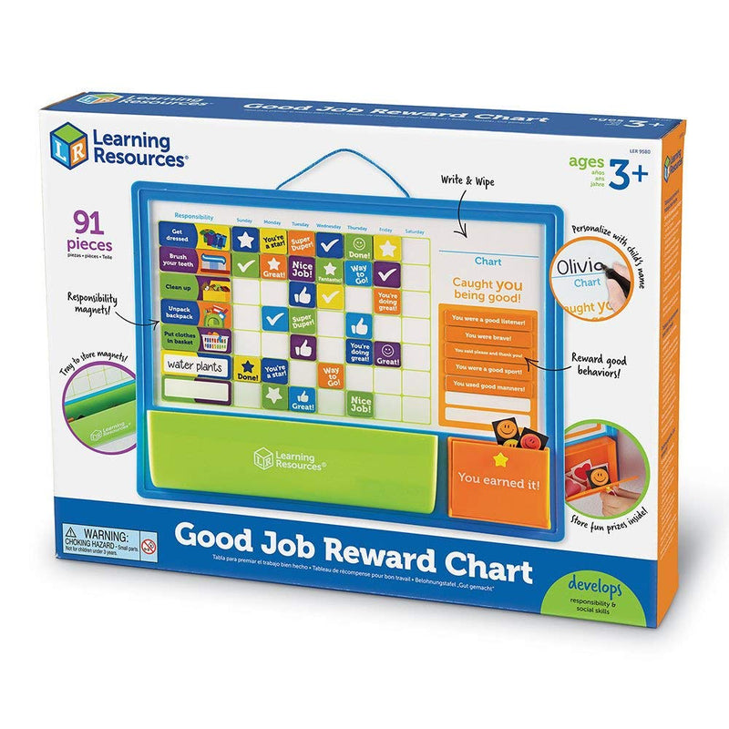 Good Job Reward Chart