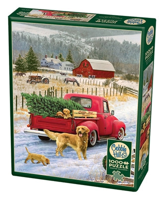 Christmas on the Farm - 1000 piece
