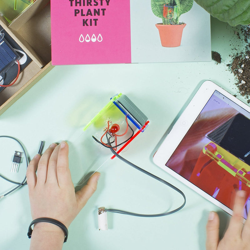 Technology Will Save Us - Thirsty Plant Kit