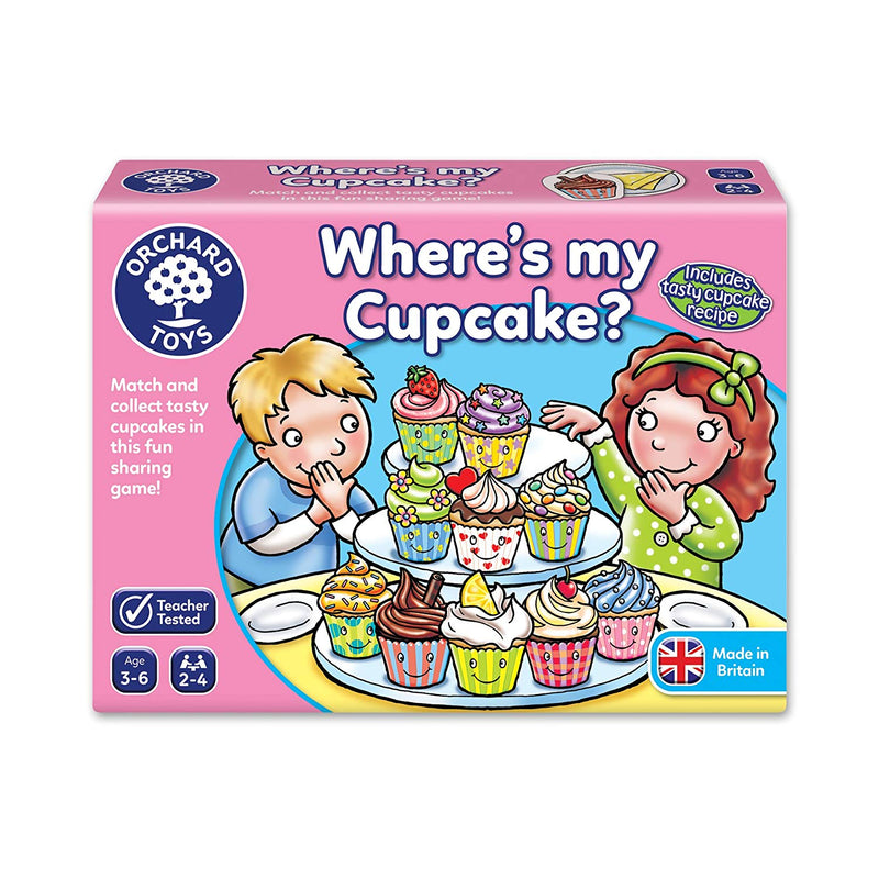 Where's My Cupcake Matching, Memory and Sharing Game