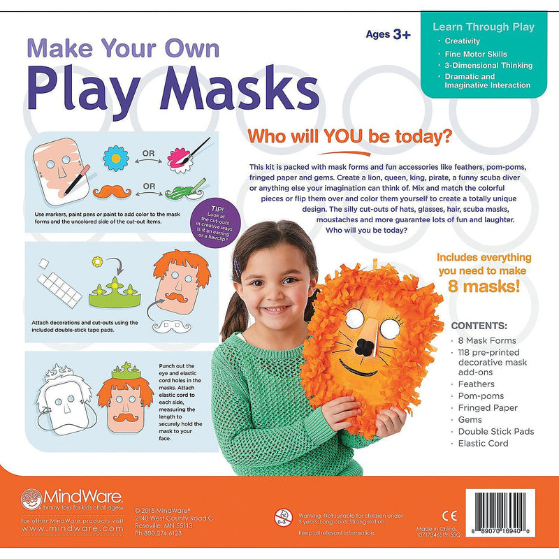 Make Your Own Play Masks