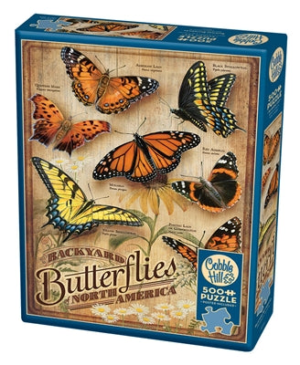 Backyard Butterflies - 500 piece