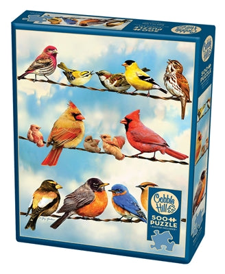 Birds on a Wire - 500 piece