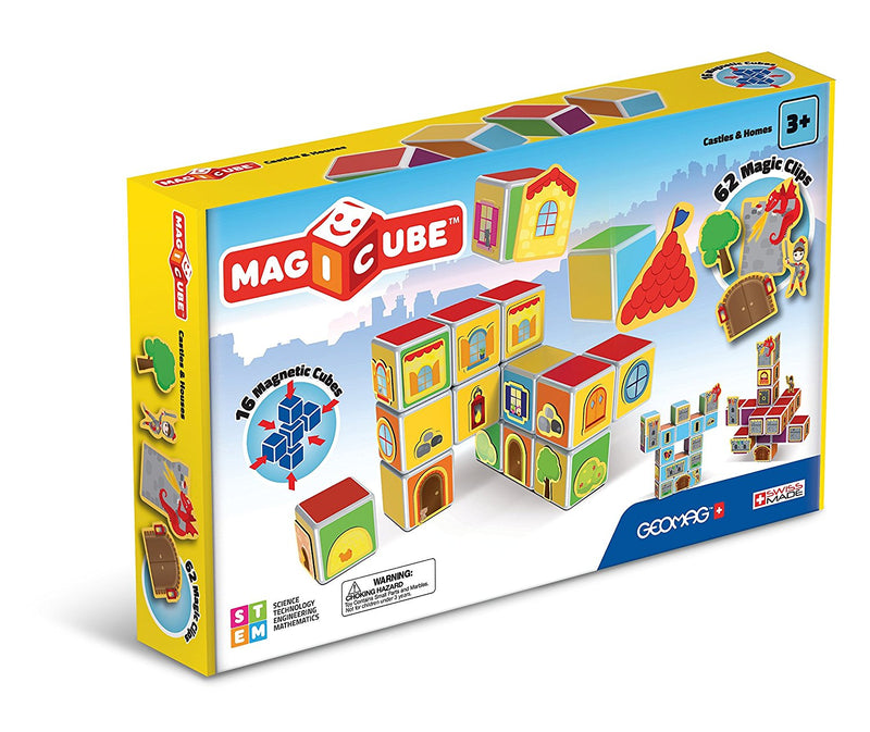 Geomag Magicube Castles and Homes (Eng/Fr)