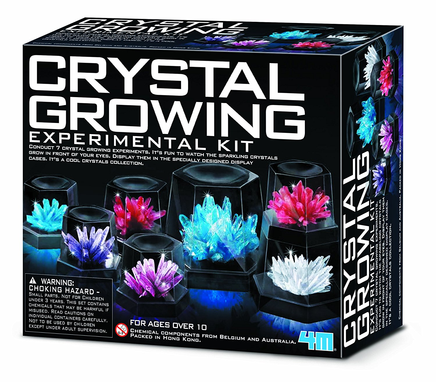 Crystal Growing Experiment Kit