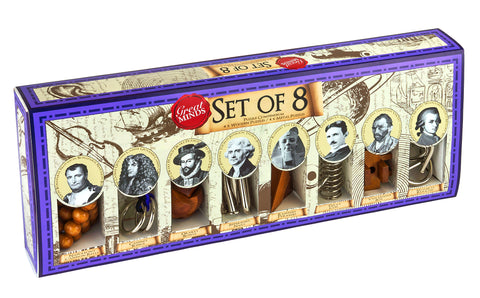 Great Minds Set of 8 (Eng/Fr)