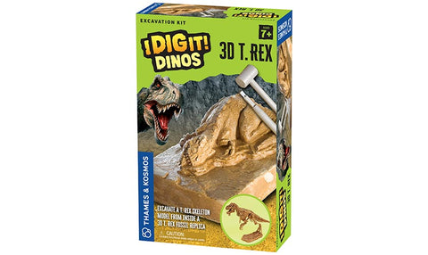 I Dig It! Dinos - 3D T. Rex Excavation Kit (Eng)