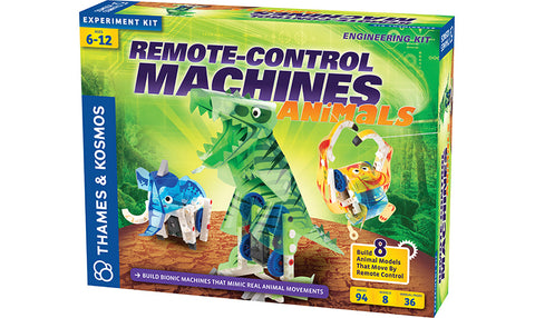 Remote-Control Machines: Animals (Eng)