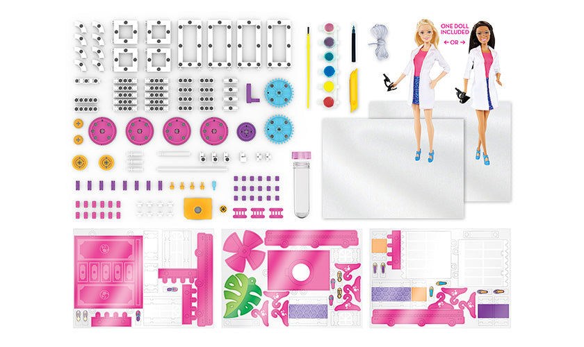 Barbie STEM Kit (with Nikki Scientist Doll)