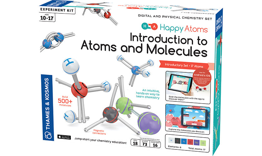 Happy Atoms Introductory Set (17 Atoms) (Eng)