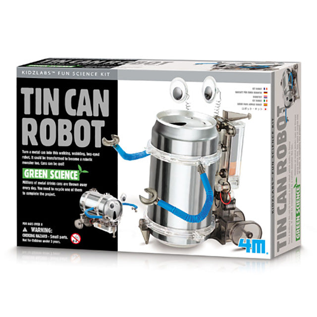 4M Green Science - Tin Can Robot